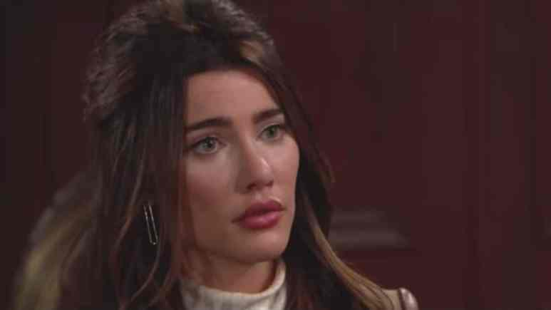 Jacqueline MacInnes Wood as Steffy on The Bold and the Beautiful.