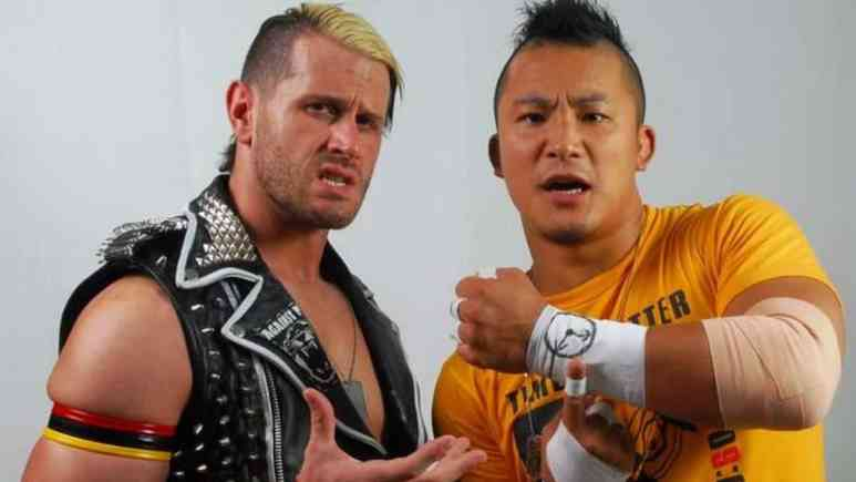Alex Shelley coming to WWE: Former TNA star reforming NJPW tag team The Time Splitters in NXT
