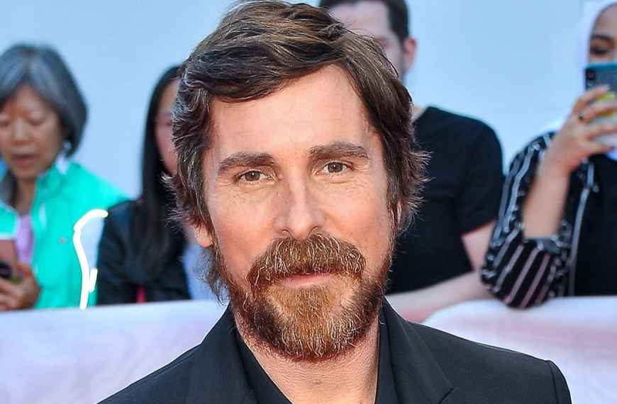 Christian Bale cast in new Netflix thriller The Pale Blue Eye