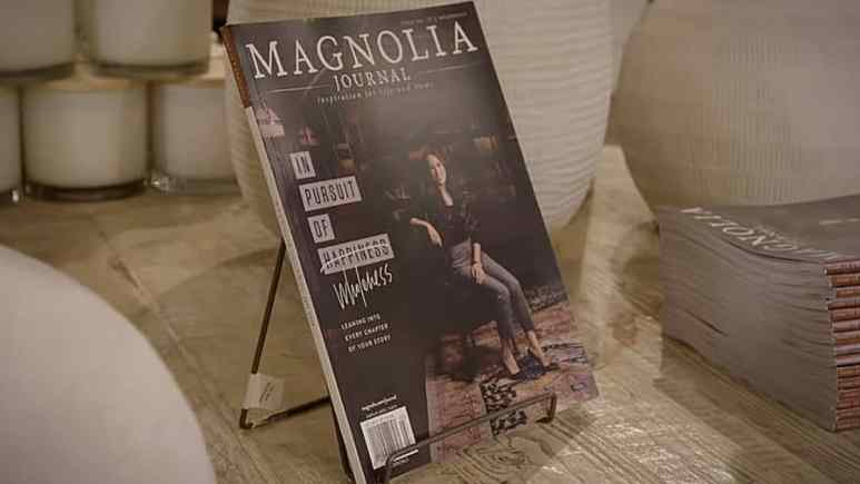 It's Discovery day at the Television Critics' Association and President David Zaslav announced when Magnolia Network will launch. Pic credit: Magnolia/Discovery