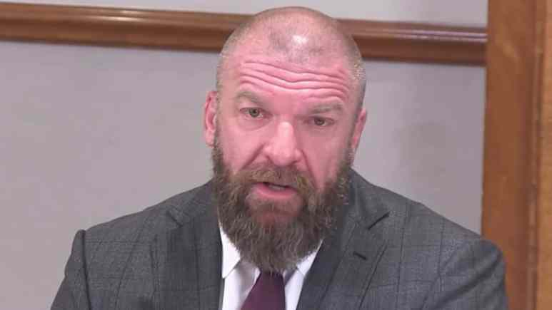 wwe coo triple h speaks to media
