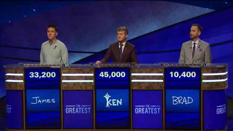 jeopardy greatest of all time tonight day 2 results