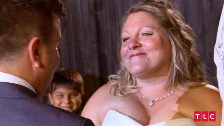Anna and Mursel at their 90 Day Fiance wedding