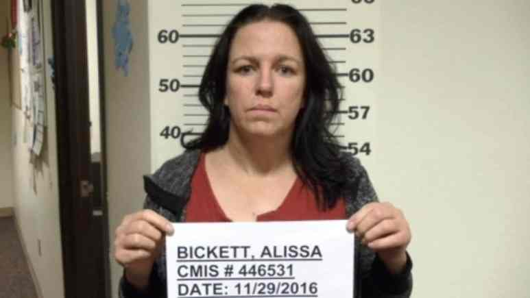 Mugshot of Alissa Bickett