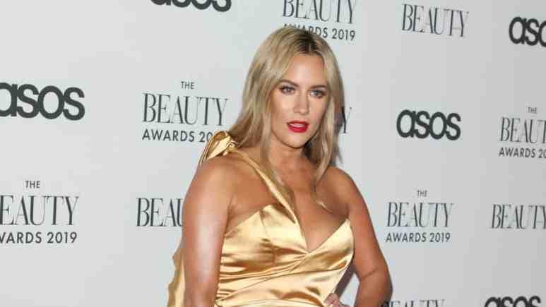 Caroline Flack at the Beauty Awards in November 2019.