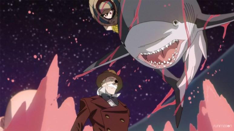 ID INVADED Anime Shark Jump John Walker Hondomachi
