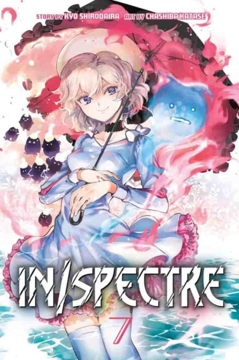 In Spectre Volume 7 Manga Cover Art