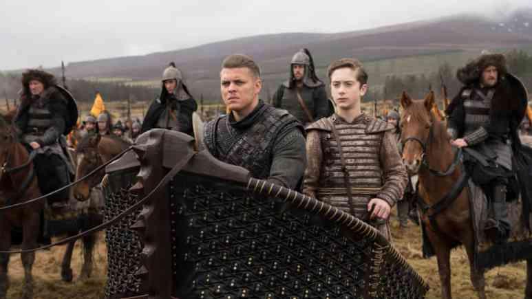 Alex Hogh Andersen as Ivar the Boneless and Oran Glynn O'Donovan as Prince Igor