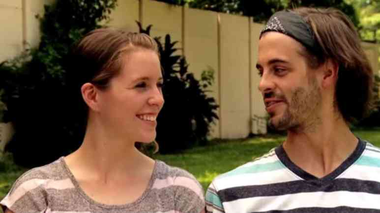 Jill Duggar and Derick Dillard while on Counting On.