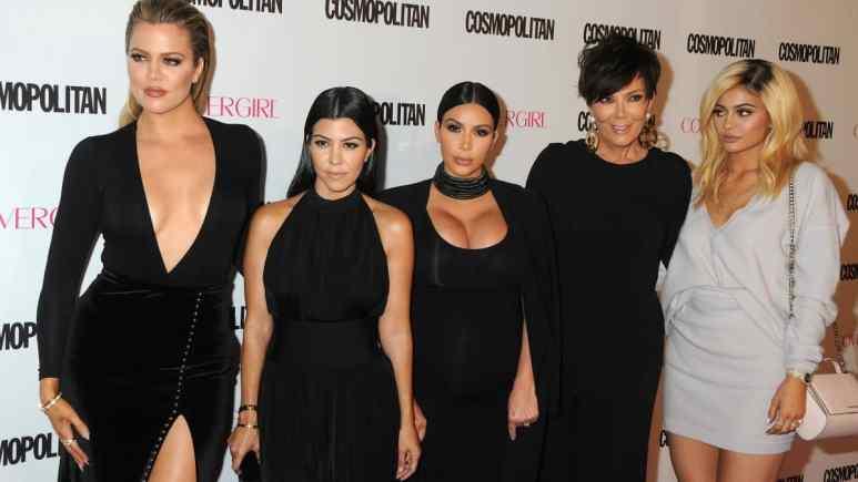 Kim Kardashian shows off big lips on Instagram.