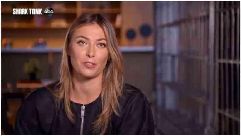 Maria Sharapova on Shark Tank