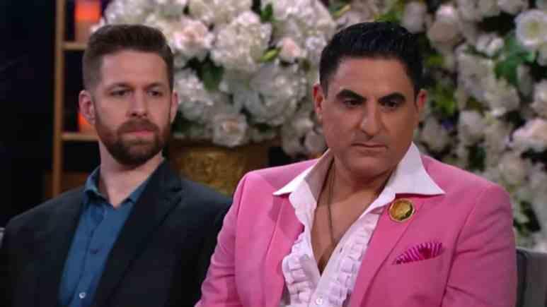 Reza Farahan and Adam Neely on Shahs of Sunset