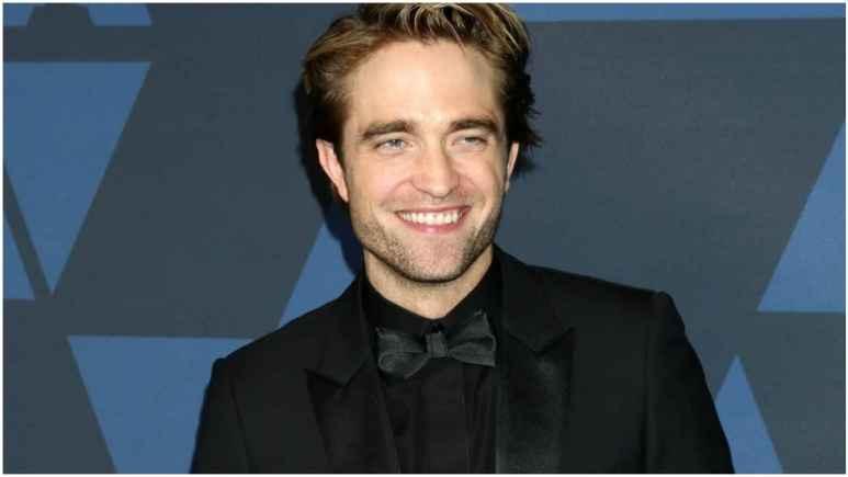 Actor Robert Pattinson