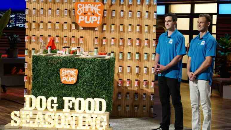 Shake It Pup is featured on the next Shark Tank