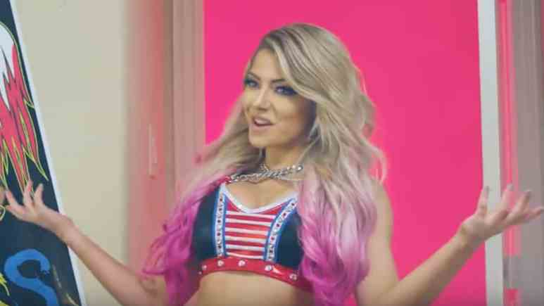 alexa bliss debuts in bowling for soup music video