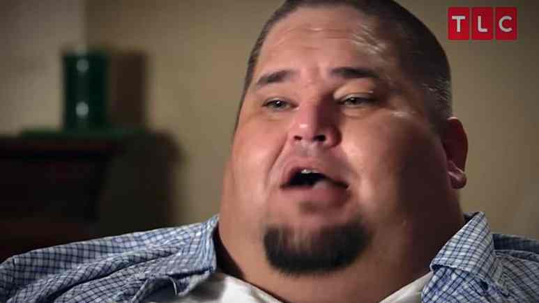 David Bolton here before his astounding weight loss, he is thinner and apparently not happy and is suing My 600-lb Life producers. Pic credit: TLC.