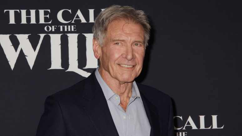 Harrison Ford attends Los Angeles premiere of his new film, The Call of the Wild