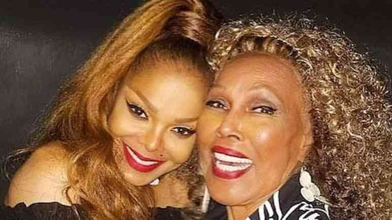 A photo shared publicly by Janet Jackson who remembers Ja'Net DuBois,the two worked together on Good Times. Pic credit: Janet Jackson/Instagram
