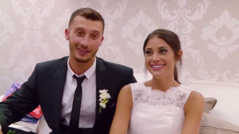 Loren and Alexei at their wedding