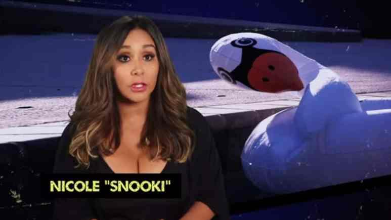 Nicole 'Snooki' Polizzi on this season of Jersey Shore: Family Vacation