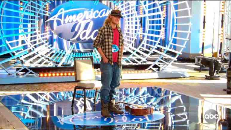 Country boy Zach Dobbins auditions for American Idol 2020