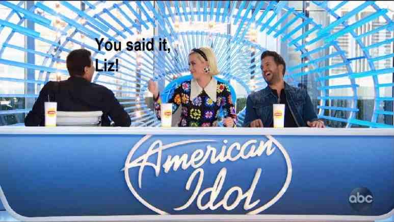 American Idol judges 2020 laugh