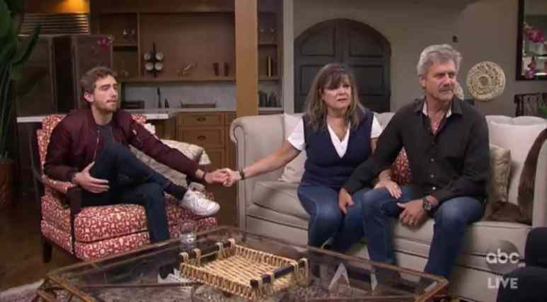 On The Bachelor, Peter Webers' family waits to hear his decision on who he's asked to marry him.