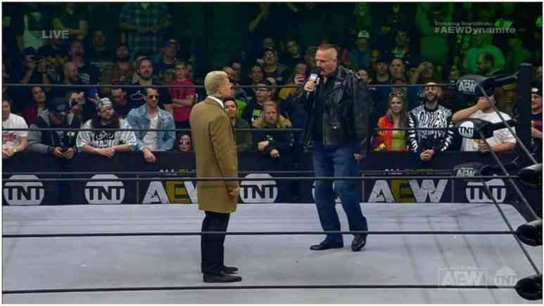 Jake 'The Snake' Roberts arrives in AEW as a manager, promises new client coming soon for Cody Rhodes