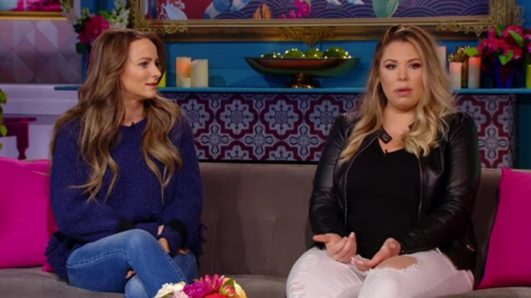 Leah Messer and Kailyn Lowry on Teen Mom 2.