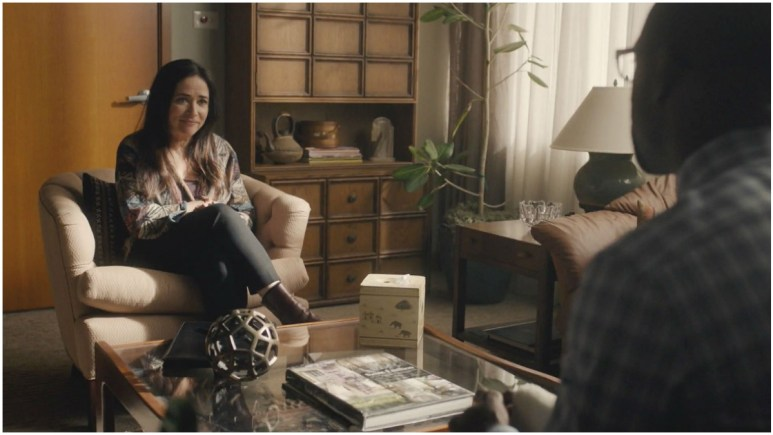 This Is Us: Pamela Adlon dishes playing Randall's therapist and working with Sterling K. Brown