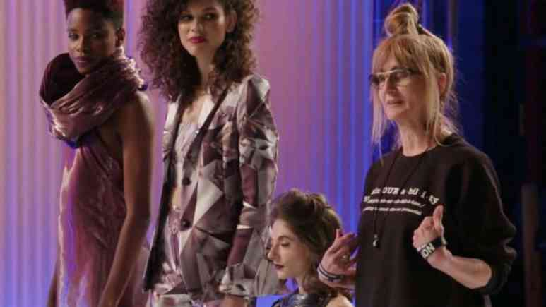 Project Runway: Nancy's 3 pieces on Part 1 of the finale