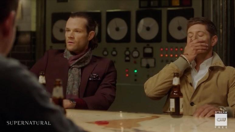 Sam (Jared Padalecki) and Dean (Jensen Ackles) from an alternate universe in Supernatural. Pic credit: The CW