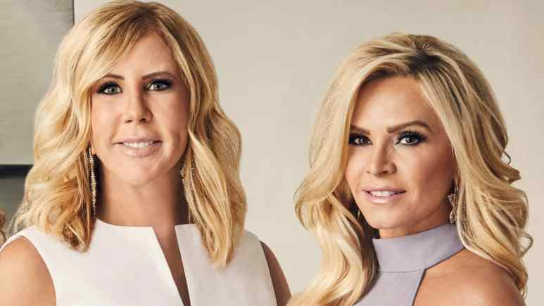 Tamra Judge claps back at Vicki Gunvalson over RHOC spin-off comments.