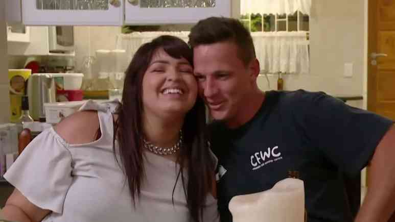 TIffany Franco and Ronald Smith on 90 Day Fiance: The Other Way
