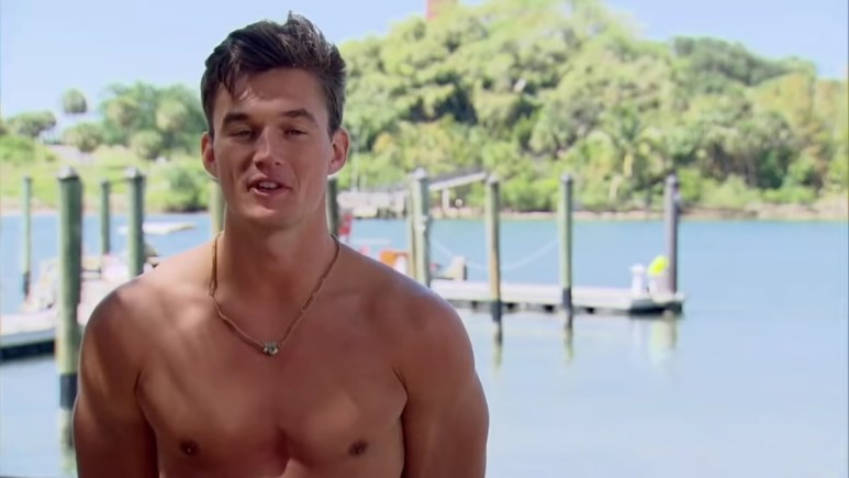 Tyler Cameron on The Bachelorette