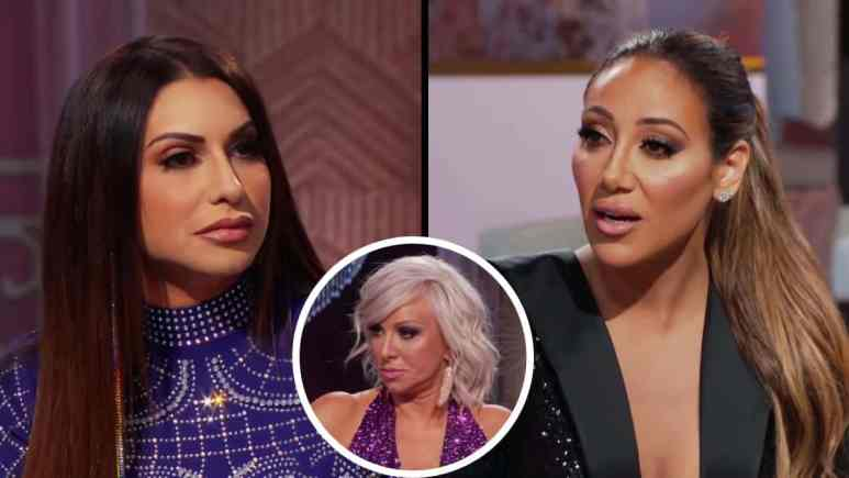 Melissa faces off with Jennifer after being accused of fake pregnancy storyline