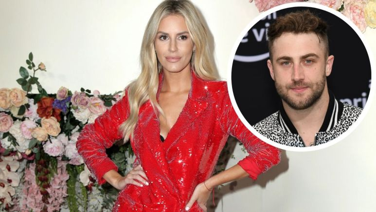 E! host Morgan Stewart confirms that she's dating Jordan McGraw