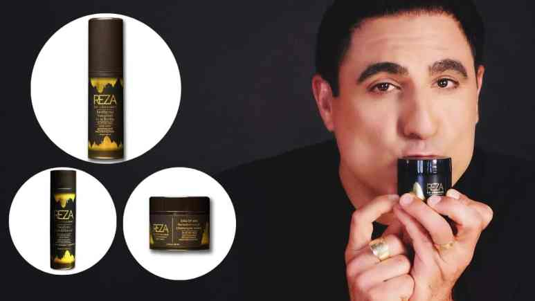 Shahs of sunset Star, Reza Farahan launches gold infused hair care line