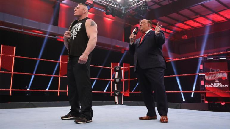 WWE has already taped the post-WrestleMania episode of Monday Night Raw