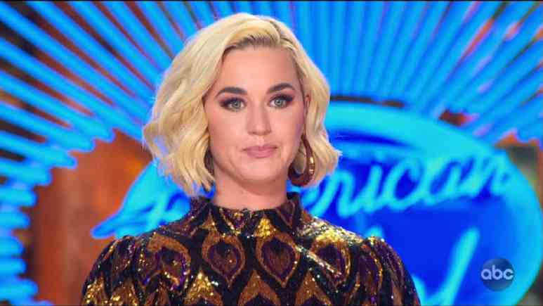 Katy Perry tears up over Robert Taylor's Idol audition