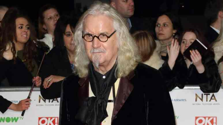 Billy Connolly on the red carpet