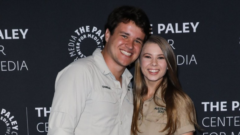 Bindi Irwin and Chandler Powell on the red carpet