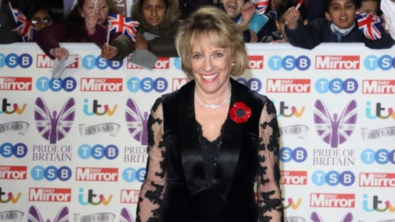 Dame Esther Rantzen on the red carpet