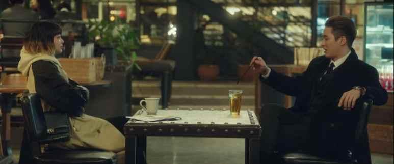 Jo Yi-Seo and Jang Geun-Woo dinner