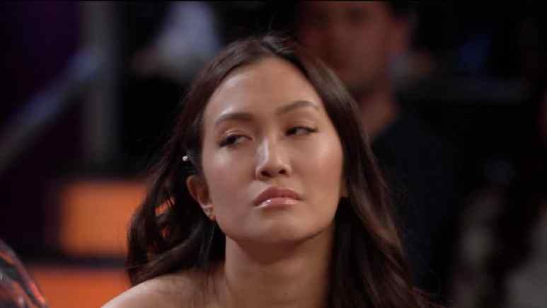 Bachelor Women Tell All contestant Tammy rolls her eyes