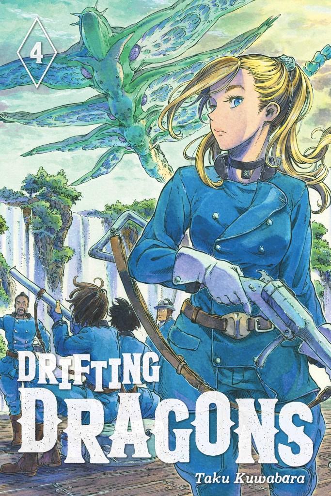 Drifting Dragons Volume 4 Manga Cover Art