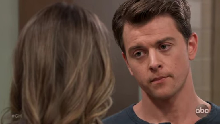 Chad Duell as Micheal on General Hospital.