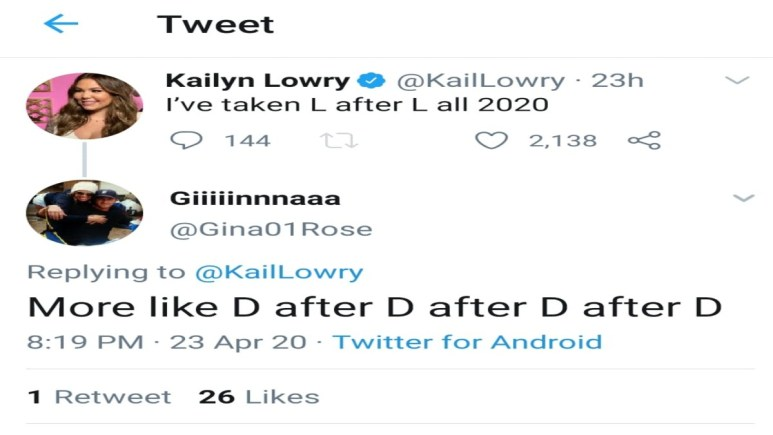 Kailyn Lowry on Twitter.