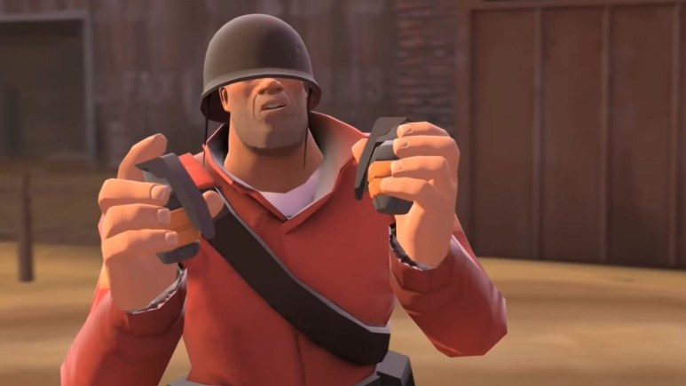 Rick May as The Soldier in Team Fortress 2