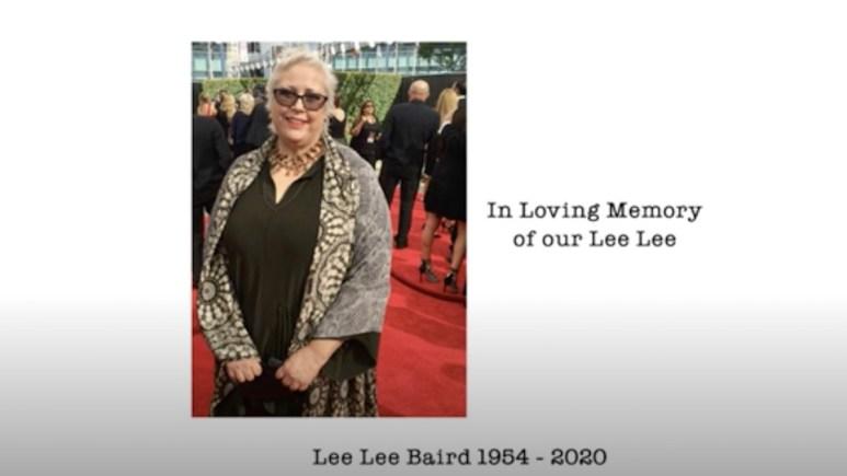 Lee Lee Baird tribute on Mom
